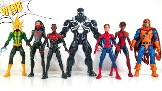 Marvel Legends Spider-Man VENOM SPACE KNIGHT BAF Review