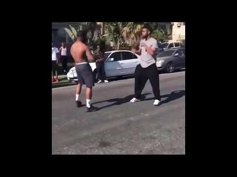 Blacks n Mexican's in LA comin together correctin sucka sh*t.