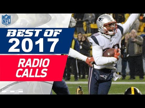 Awesome NFL Radio Calls From The 2017 Season!   NFL Highlights