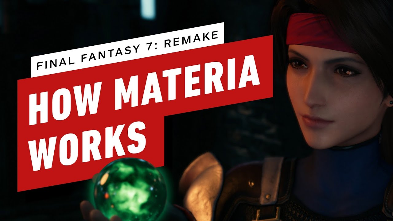 How Materia Works in Final Fantasy 7 Remake - IGN
