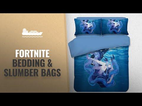 Fortnite Bedding & Slumber Bags [2018 Best Sellers]: Hatsune Miku Bedding Set And Pillowcase Flat