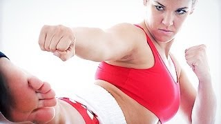 Немного кикбоксинга(Подписываемся на канал: http://www.youtube.com/channel/UCumlYqCYSIOj73zdZGPBFVQ Tags: fitness women, фитнес блог, тонус ТВ, танцы для ..., 2014-02-06T15:51:44.000Z)