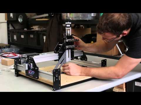 Shapeoko 2 Works Kit Tutorial - Desktop CNC 3D Carver Router