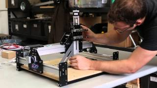 Shapeoko 2 Works Kit Tutorial - Desktop Cnc Carver Router By Inventables