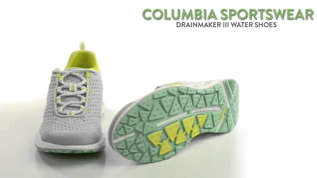 b9820eb29fa Columbia Sportswear Drainmaker III Water Shoes (For Women) - YouTube
