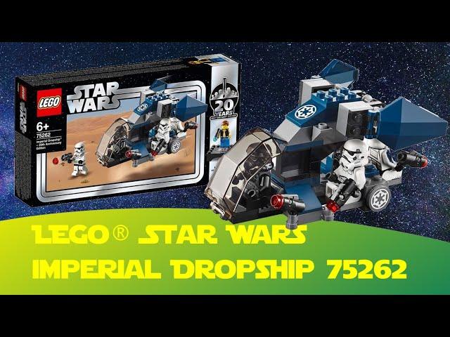 Lego Star Wars Imperial Dropship 75262 (20 Jahre Lego Star Wars) Battlepack mit Han Solo Bonusfigur