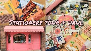 Seoul Stationery Shop Tour & Haul (Hongdae) 홍대 문구점 소품샵 하울