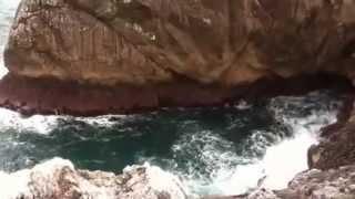Video de los acantilados de Santiuste (Asturias)