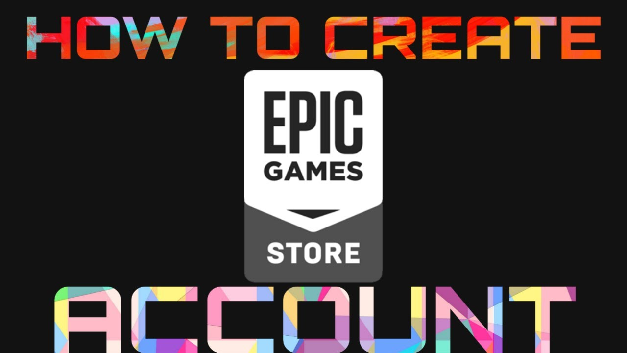 How To Create Epic Games Account? - YouTube