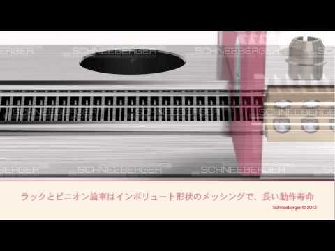 SCHNEEBERGER MINISCALE PLUS, MINIRAIL, MINISLIDE, Formular-S and LUBE-S Japanese