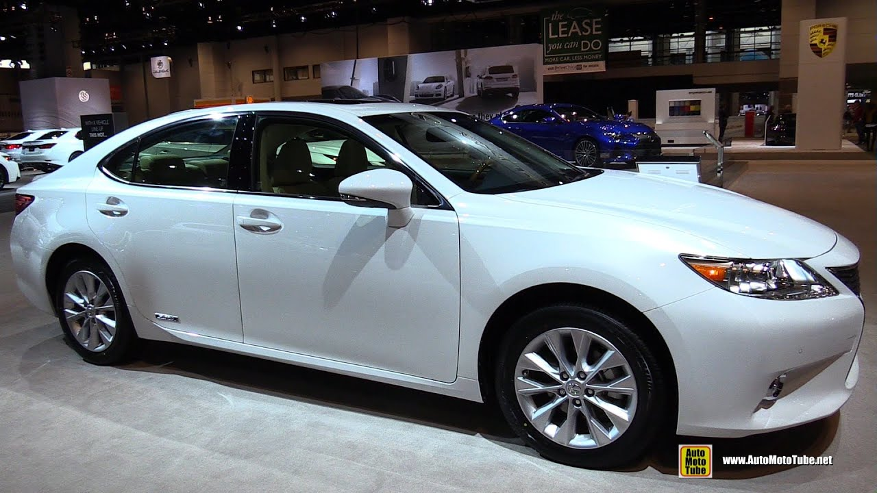 2015 lexus es300h hybrid exterior and interior walkaround 2015 chicago auto show youtube. Black Bedroom Furniture Sets. Home Design Ideas