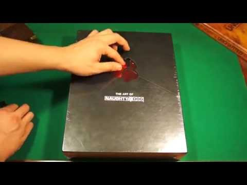 Unboxing The Art of Naughty Dog Limited Edition 30th Anniversary Book
