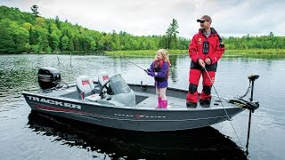 TRACKER Boats: 2016 Super Guide V-16 SC Deep V Aluminum Fishing Boat