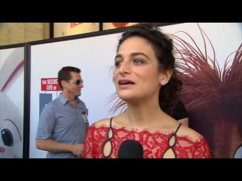 The Secret Life of Pets Jenny Slate Red Carpet Interview