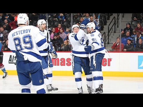 Stamkos scores twice in the second period