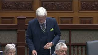 MPP Nicholls Requests a Moment of Silence for Lives lost on 401's Carnage Alley
