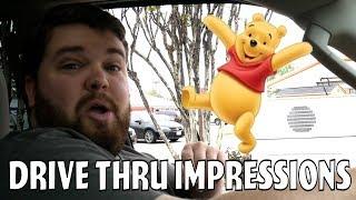 Pooh Ordering Honey at the Drive Thru - Drive Thru Prank