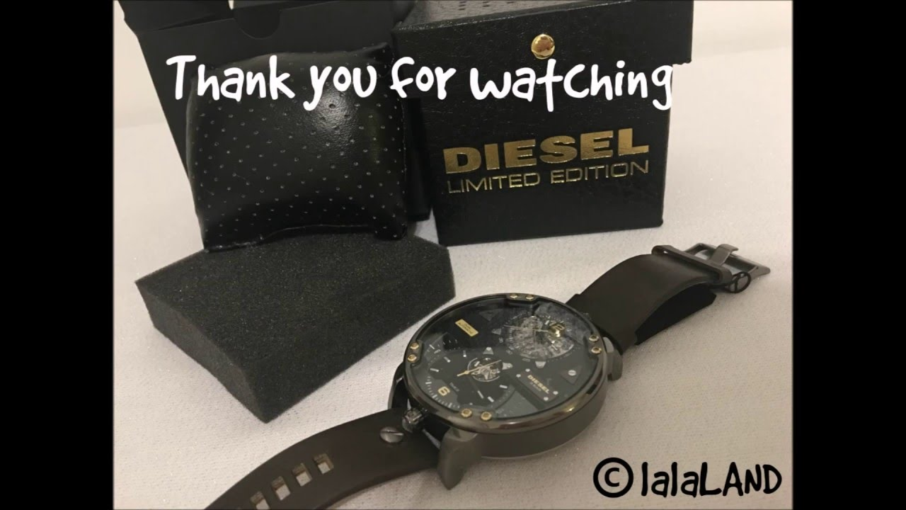 Unboxing Diesel DZ7365 Automatic Watch   tips how to spot genuine Diesel  Watch - YouTube e3f3325ead4