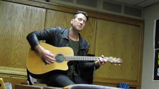 "Russell Dickerson ~ ""Yours"" ~ KRTY ~ 2/8/17"