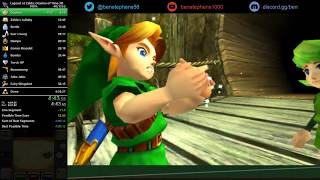 Ocarina of Time 3D 100% Speedrun in 4:13:22 [World Record]