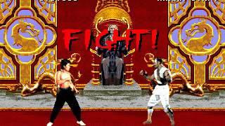 Mortal Kombat - Liu Kang (Sega Genesis) (By Sting)