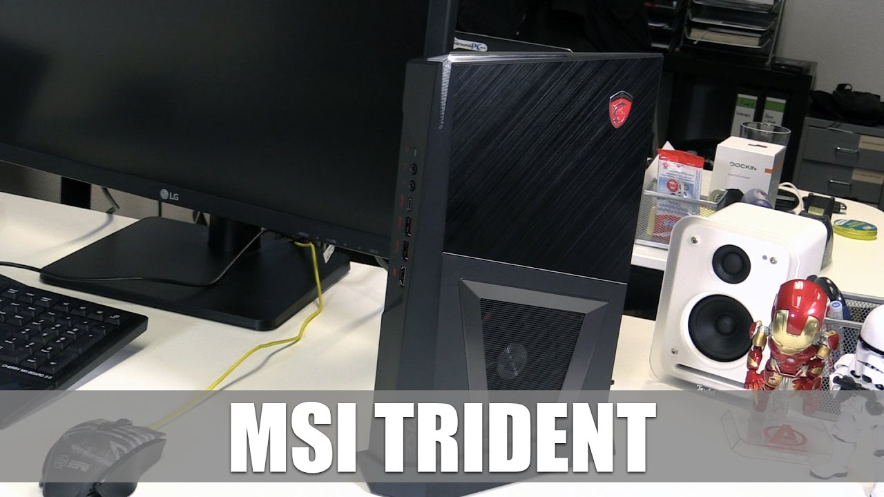 MSI Trident Kompakter Gaming PC Frs Wohnzimmer Im Hands On