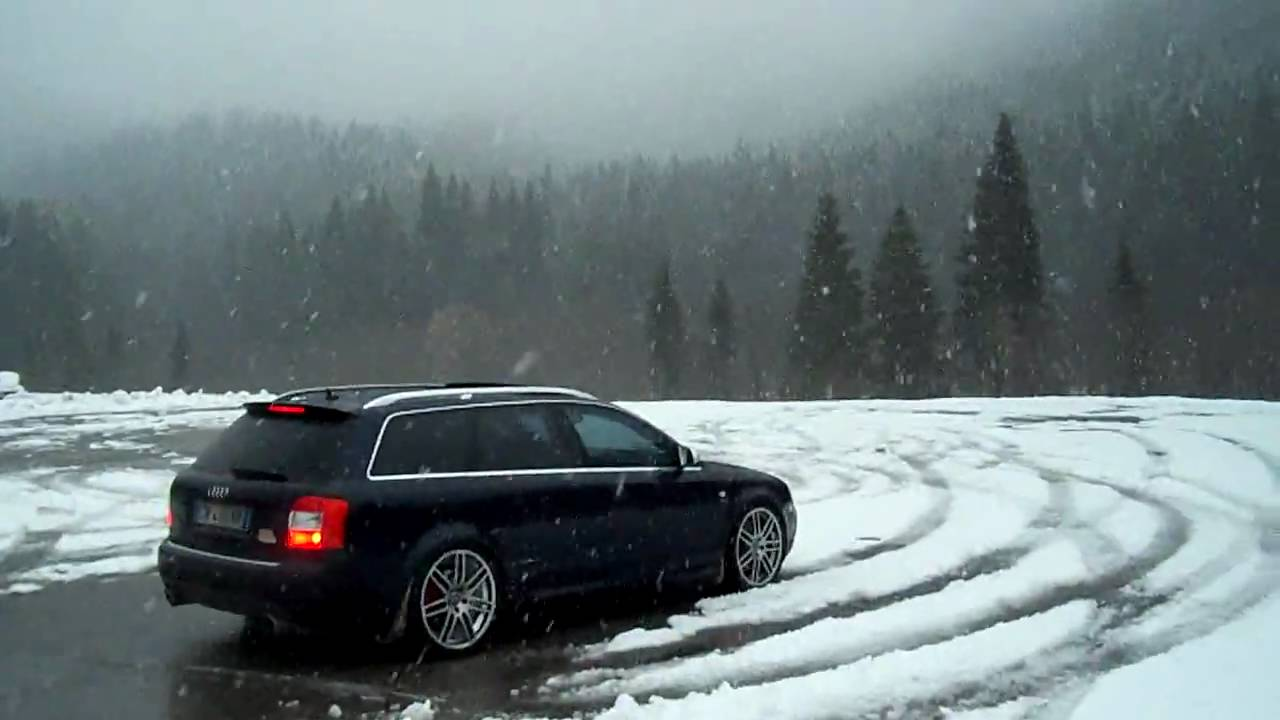 rider audi    snow donut youtube
