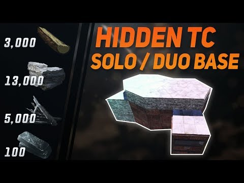 Solo / Duo Rust Base Design | Hidden TC thumbnail