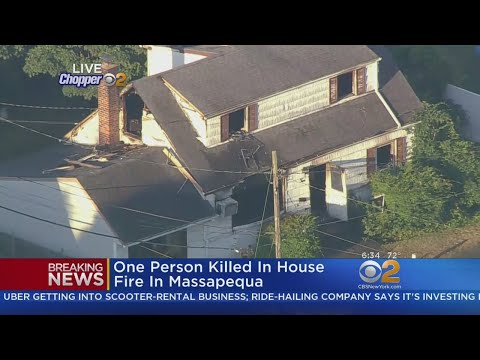 One Person Killed In House Fire In Massapequa