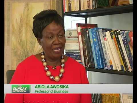 The Sunday Interview with Professor Abiola Awosika