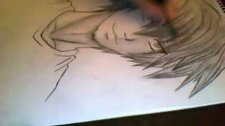 How to draw an Anime Boy