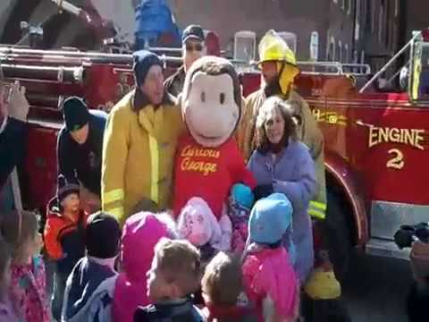 Curious George Arrives at Boston Children's Museum thumbnail