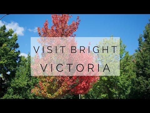 BRIGHT, VICTORIA, AUSTRALIA - bright