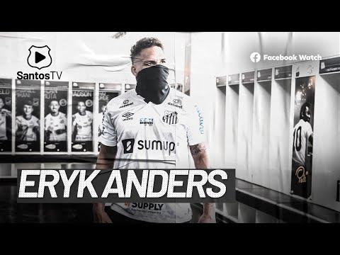 ERYK ANDERS VISITA O SANTOS FC