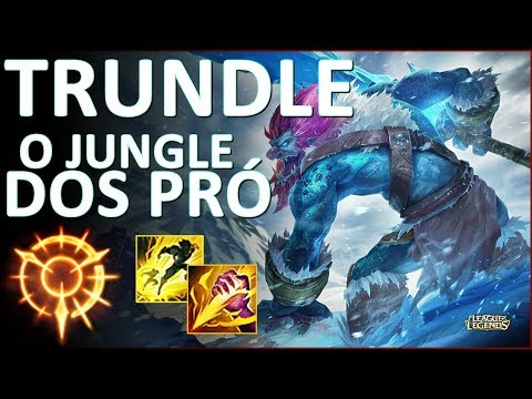 DESCUBRA PORQUE TODO MUNDO TA JOGANDO DE TRUNDLE!! TRUNDLE JG RANKED GAMEPLAY - League Of Legends