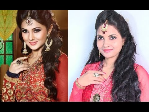 Tv Actress Jennifer Winget Inspired Hairstyle 4 Bollywood