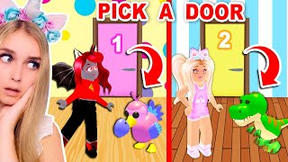 PICK The RIGHT DOOR To Get A *FREE* LEGENDARY DINOSAUR In Adopt Me! (Roblox)