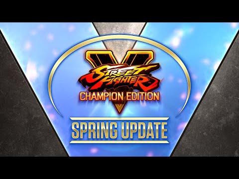 Street Fighter V - Spring Update 2021