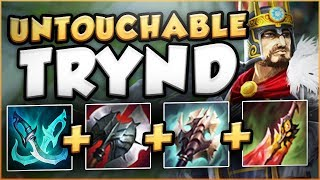 WTF?? THIS TRYND BUILD GIVES 3000+ HP AND 1000+ DMG CRITS?? TRYND TOP GAMEPLAY! - League of Legends