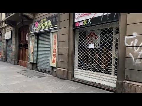 Coronavirus: à Milan, le travail au ralenti