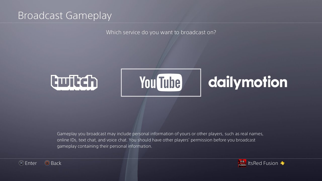 How To Stream On Youtube And Twitch On The Ps4! How To Broadcast On The Ps4  For Twitch And Youtube!