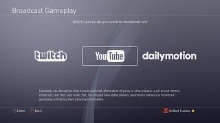How to stream on Youtube and Twitch on the PS4! How to Broadcast on the PS4 for Twitch and Youtube! thumbnail