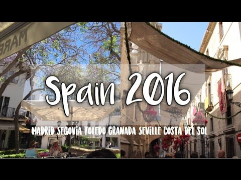 MY TRIP TO SPAIN 2016   EF TOURS
