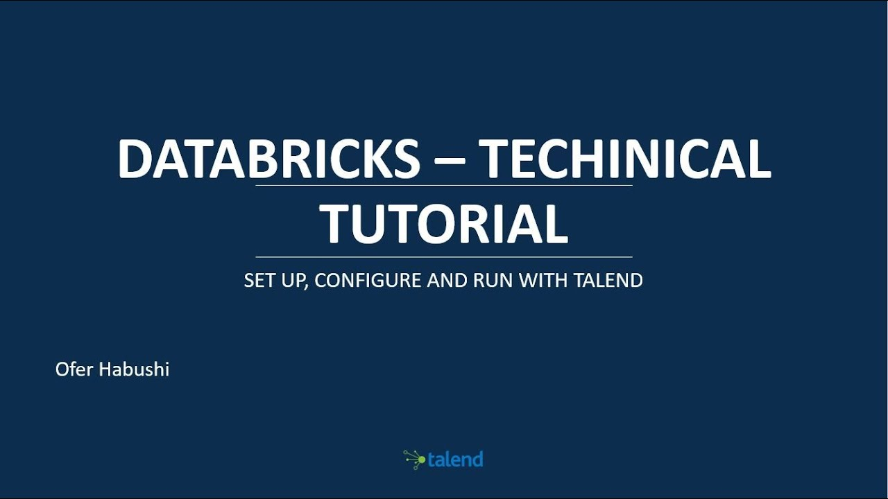 """Hit the """"Easy"""" Button with Talend & Databricks to Process"""