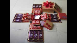 Valentine special chocolate explosion box by Sheetal Khajure