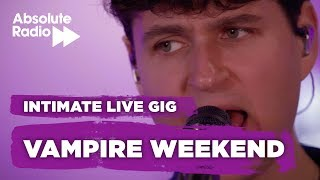 """Vampire weekend perform """"this life"""" from their incredible new album """"father of the bride"""" live at absolute radio.----------------------------------------..."""