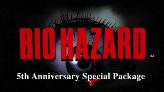 Biohazard 5th Anniversary Special Package Ps1 - unboxing - Jacobo García - Interfaz coleccionista