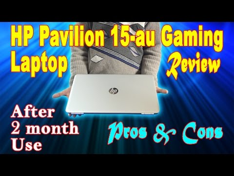 HP Pavilion 15-au Laptop Full review, Pros & Cons after 2 month use Hindi