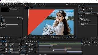 Adobe After Effects CC_Tạo hiệu ứng chuyển trang Transitions_Tạo Slide Show