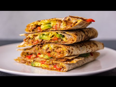 THE MOST SATISFYING VEGAN QUESADILLAS